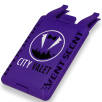 Vent Scent Car Air Fresheners in Purple