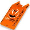 Vent Scent Car Air Fresheners in Orange