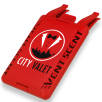 Vent Scent Car Air Fresheners in Red