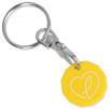 New Shape Recycled Plastic Trolley Coin in Yellow