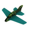 Camouflage Foam Gliders