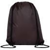 Full Colour Drawstring Backpacks in Brown