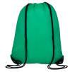 Full Colour Drawstring Backpacks in Green