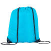 Full Colour Drawstring Backpacks in Turquoise