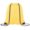 Full Colour Drawstring Backpacks in Yellow