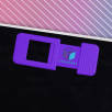Full Colour Webcam Covers in Purple