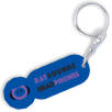 Branded trolley token for business gifts