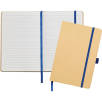 A5 Recycled Paper Notebooks in Natural/Navy