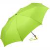 Fare Recycled PET Auto Mini Umbrella in Lime