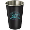 400ml Stainless Steel Cups in Black