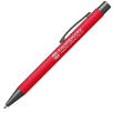 Bowie Soft Touch Metal Pens in Red
