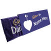 Custom Printed Dairy Milk Chocolate Bars 360g in Purple
