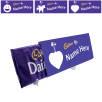Custom Printed Dairy Milk Chocolate Bars 850g