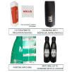 Optional Extras (POA) for 500ml Metal Bottles