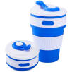 Collapsible Coffee Cups in Blue