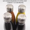 Premium Metal Bottles with Engraved Lids