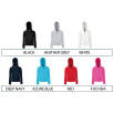 Fruit of the Loom Premium Lady Fit Zipped Hoodies