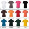 Unisex Jersey Crew Neck T Shirt