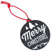 Circle Hanging Decorations in Black