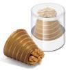 Clear Pot Walnut Whirls
