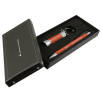 Soft Touch Stylus Pen & Torch Gift Sets in Orange
