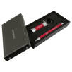 Soft Touch Stylus Pen & Torch Gift Sets in Red