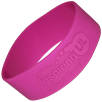 Promotional Extra Wide Embossed Silicone Wristbands are Ideal Branded Giveaways
