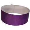 Printed Tyvek Wristbands In Purple