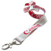15mm Woven Lanyards in White