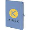 A5 Mood Soft Feel Notebooks in Pastel Dark Blue