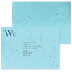 Eco Seed Paper Envelopes in Blue