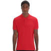 Stanley Organic Cotton Polo Shirts in Red