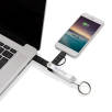 MFi Licensed 2-in-1 USB Cable Keyrings