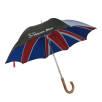 Union Jack Umbrella in Black