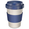 Ecokitu Reusable Coffee Cups in Blue/Off-White