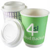 12oz Double Wall Paper Cups with Lids