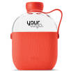 Hip Water Bottle in Coral