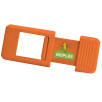 Bioplastic Webcam Covers in Orange