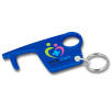 Hygiene Hook Keyring in Blue