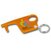Hygiene Hook Keyring in Orange