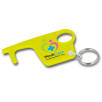 Hygiene Hook Keyring in Yellow
