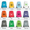 Individually Named Full Colour Drawstring Bags