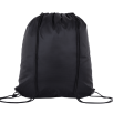 Individually Named Drawstring Bags in Black