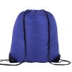 Individually Named Drawstring Bags in Royal Blue
