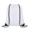 Individually Named Drawstring Bags in White