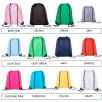 Named Drawstring Backpacks in a Choice of Colours Swatch 1 of 2