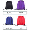 Named Drawstring Backpacks in a Choice of Colours Swatch 2 of 2