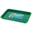 Antimicrobial KeepSafe Change Trays in Green