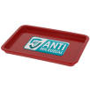 Antimicrobial KeepSafe Change Trays in Red
