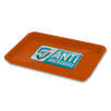 Antimicrobial KeepSafe Change Trays in Orange
